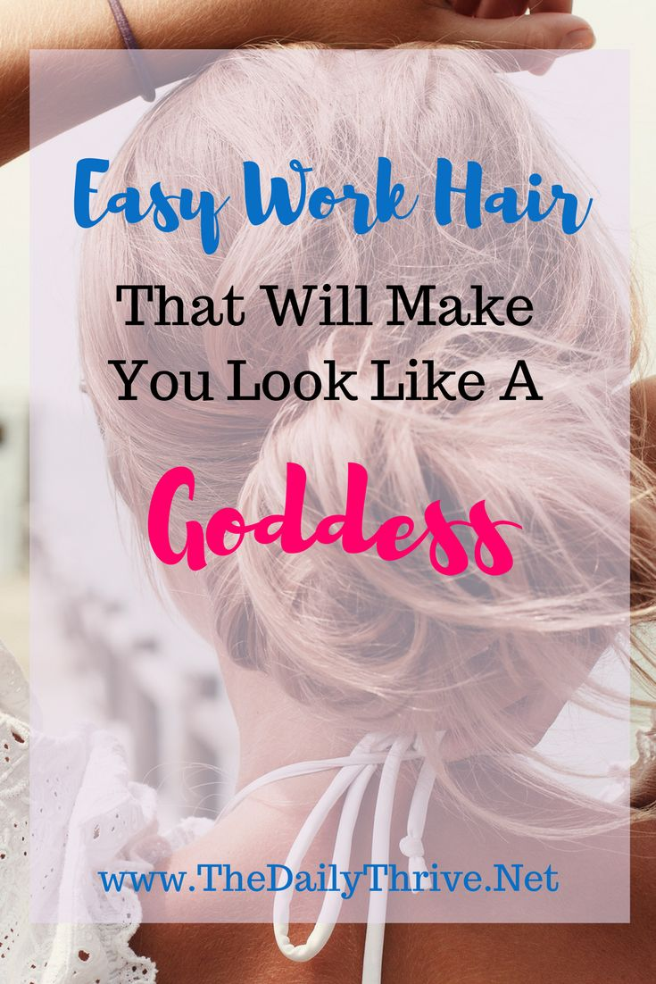 Best 25 Easy Work Hairstyles Ideas On Pinterest Simple