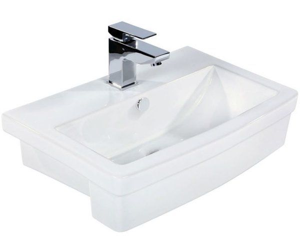 You'll love the Richard 58cm Semi-Recessed Basin at Wayfair.co.uk - Great Deals on all DIY & Plumbing products with Free Shipping on most stuff, even the big stuff.