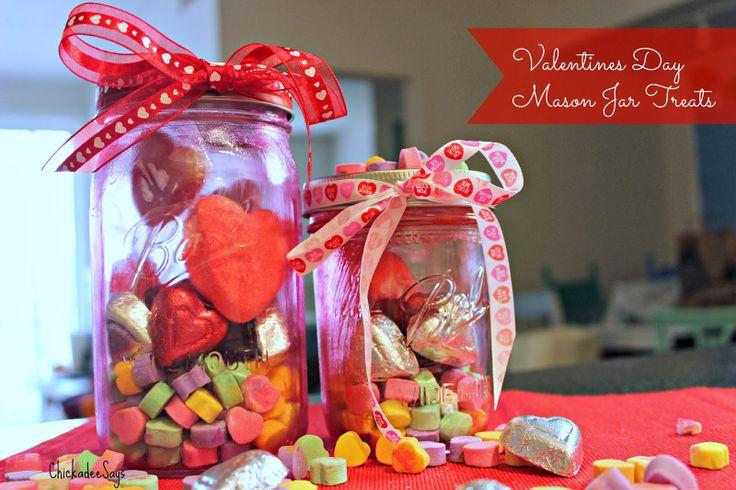 Do It Yourself: Valentine's Day Mason Jar Treats