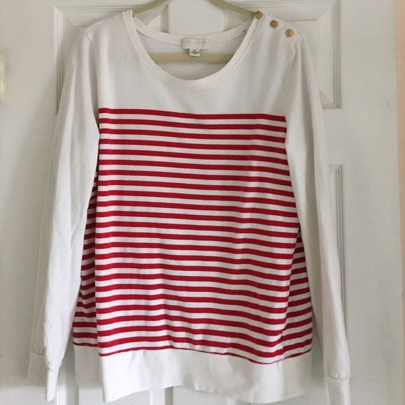 Forever 21 nautical top Forever 21 plus size nautical top runs true to size with some stretch Forever 21 Sweaters Crew & Scoop Necks