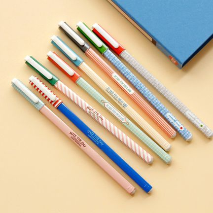 Retro Square Pens!! I want some!! I would love someone forever and ever!