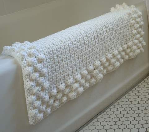 bath mat crochet pattern
