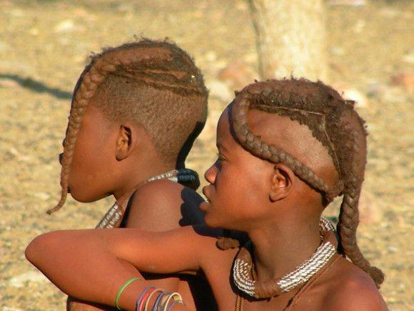 Kaokoland - Ragazze Himba