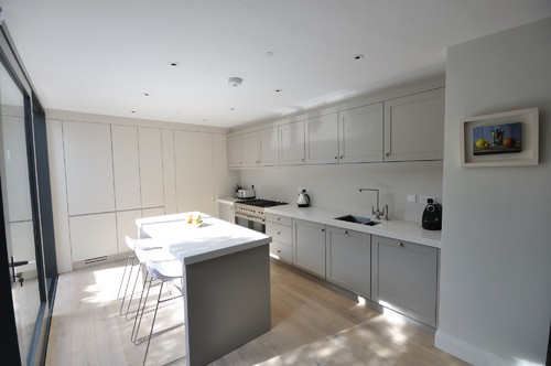 french grey more cottages gardens kitchen aek contemporary kitchens