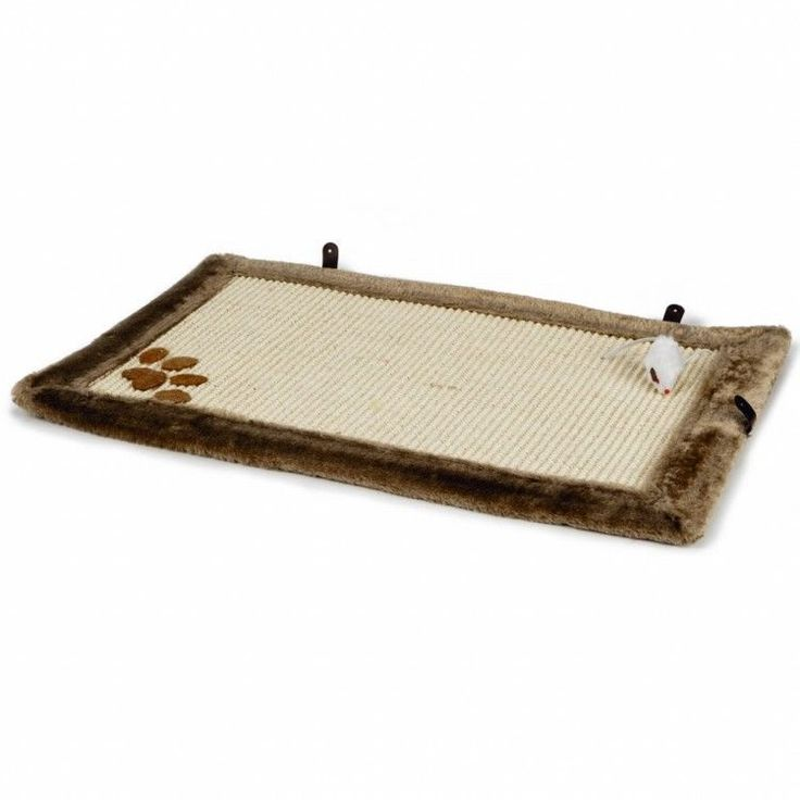 Cat Scratching Pad Cat Bed Mouse Toy Kitten Furniture Scratcher Carpet Fun Game  #CatScratchingPad
