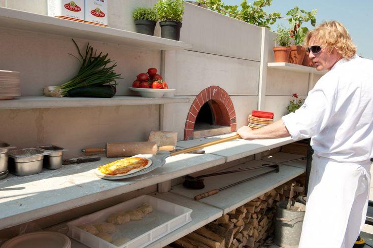 WWOO in Amsterdam IJburg met pizzaoven