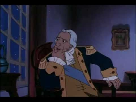 George Washington Biography 28 minute biography cartoon by Liberty's Kids