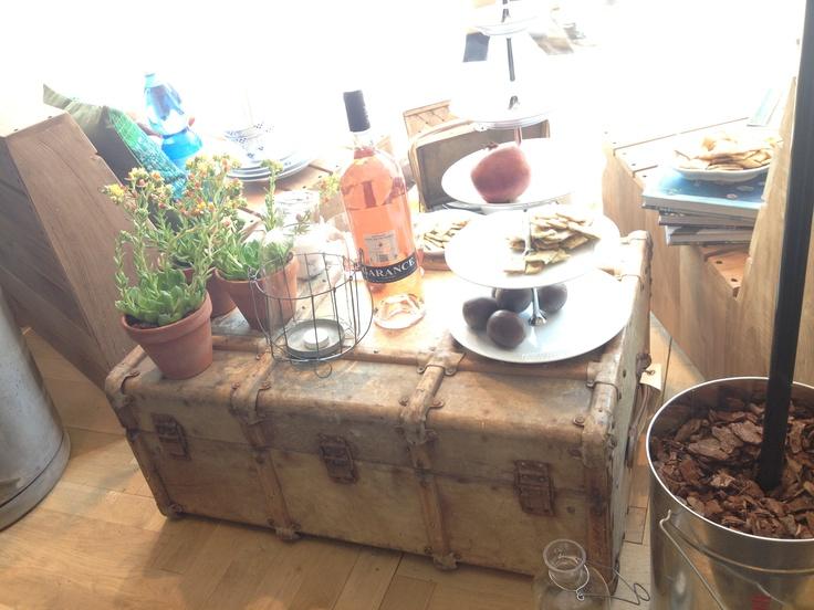 Kist/koffer tafel