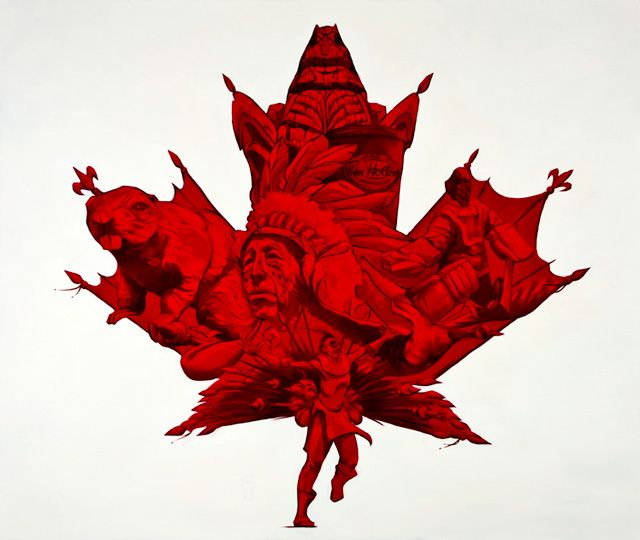 Artistic and expressing what is Canada all about