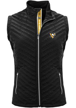 Pitt Penguins Womens Black Transition Vest