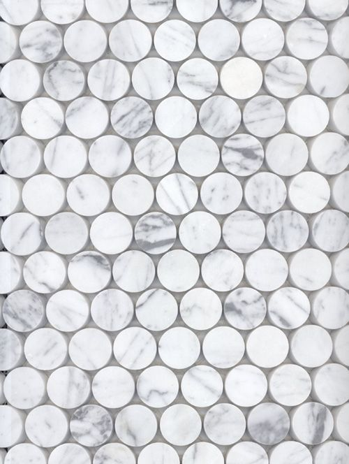 Academy Tiles Stone Mosaic - Stone Penny Rounds - 73700