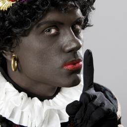 Zwarte Piet voegde zich geruisloos bij Sinterklaas