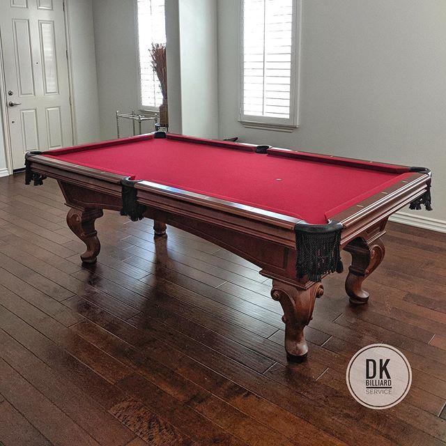 8 Foot American Heritage Pool Table Install In Fullerton