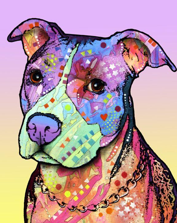 """""""Innocent Pit Bull"""" by Dean Russo    My Charlie: Art Work, Pitbull Art, Nike Dunks, Russo Art, Dean O'Gorman, Pitbull Mommy, Pit Bull, Dean Russo Pitbull, Innocent Pitbull"""