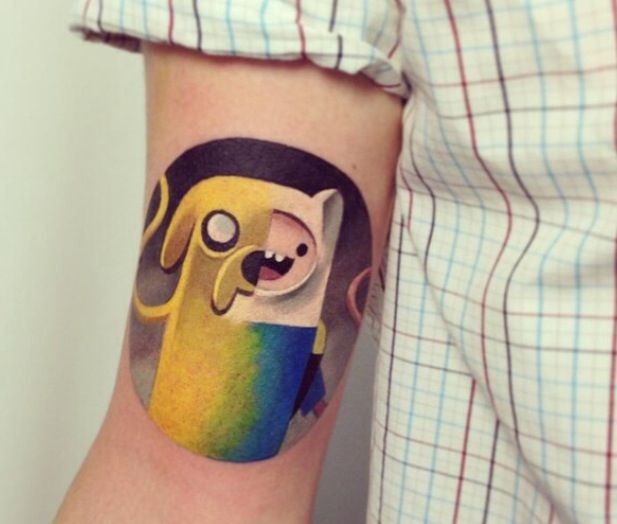 adventure time tattoos intrigue me so much