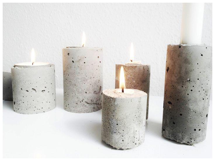 DIY | Konkretes Projekt Ein schnelles und einfaches Projekt. Wir können Ihnen mit einigen Flecken helfen, um Ihre Kerze in Kunstwerke der alten Welt zu verwandeln.
