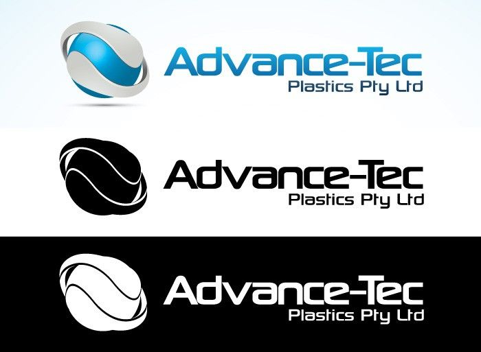Innovative hi-tech Australian plastics company needs new Logo by Ziramcreative
