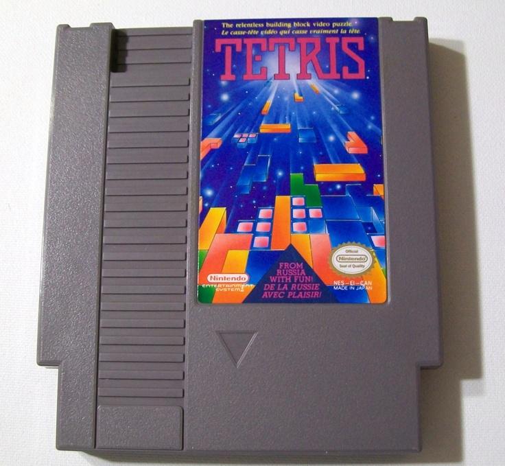 Original Nintendo Games | SALE Tetris NES Game for Original Nintendo by RetroRevolution