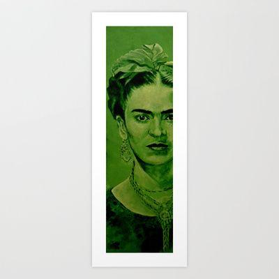 Frida Kahlo - Original Art Print by ARTito