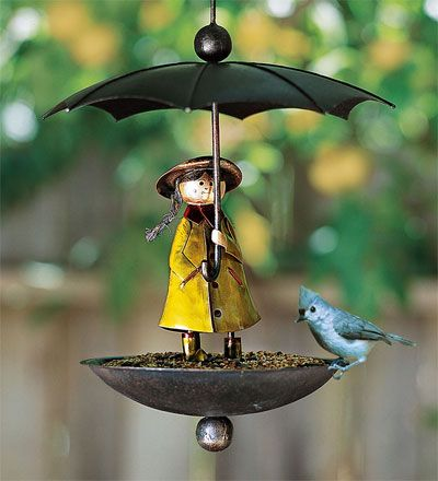 rainy day bird feeder