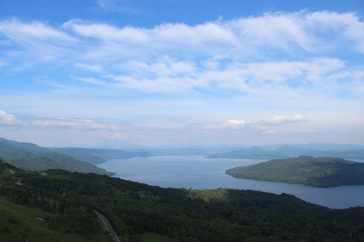 Kussyaroko.Lake. in Hokkaido,japan