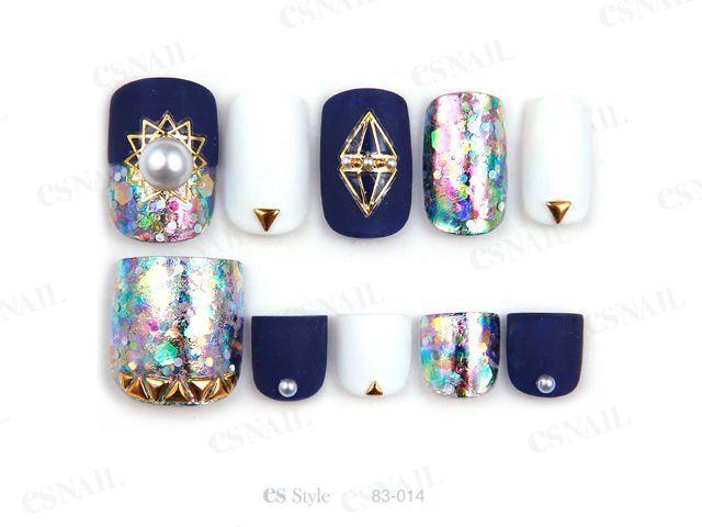 G mermaid nails