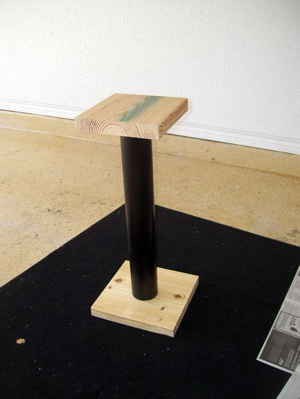 brave diy wood speaker stands 12