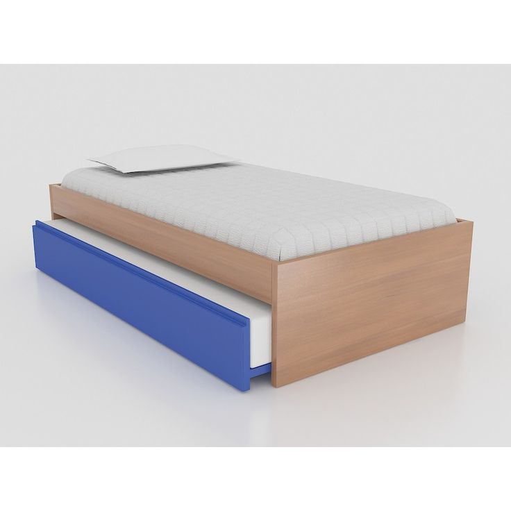 Cama Zimm Natural nido color azul