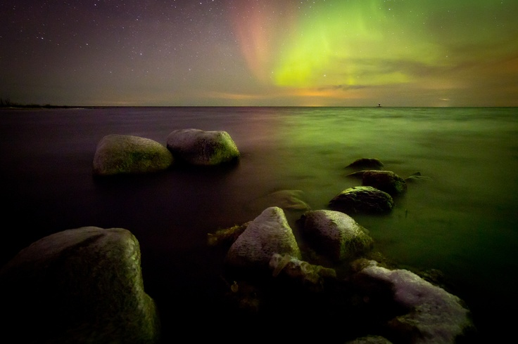 Waiting for perfect aurora..