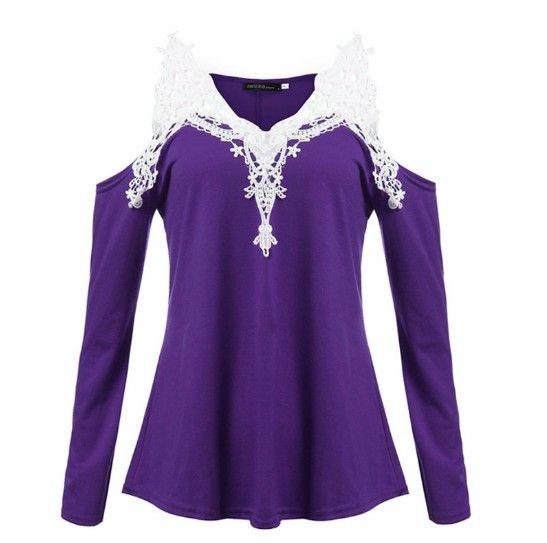 Dámské tričko bez ramen fialové – dámská trika + POŠTOVNÉ ZDARMA Na tento produkt se vztahuje nejen zajímavá sleva, ale také poštovné zdarma! Využij této výhodné nabídky a ušetři na poštovném, stejně jako to udělalo …