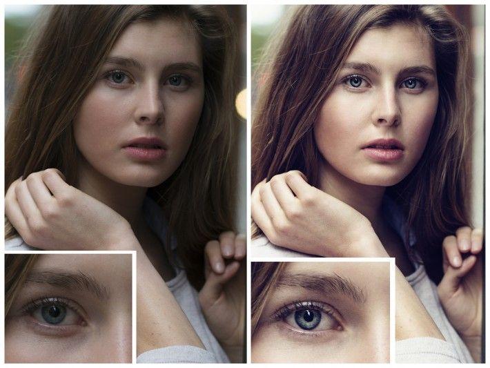contrast dani diamond female model girl fstoppers nyc nikon d800 portrait bokeh eyes 710x533 The Secret to Crafting Stunningly Sharp Images ...