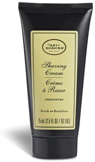 The Art of Shaving Unscented Shaving Cream Tube