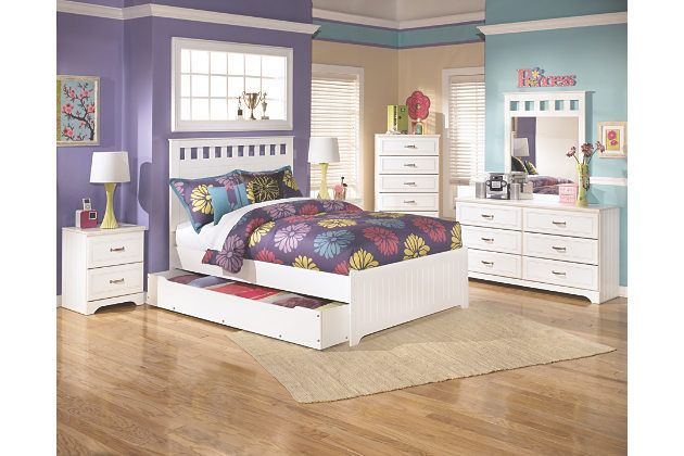 Jenny Lind Daybed White The Land Of Nod white trundle bed has a white full headboard with square cut outs ...