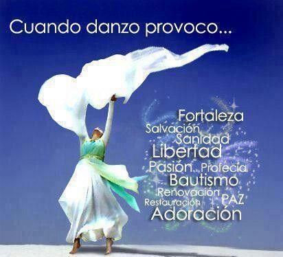 Amo danzarte mi Dios...