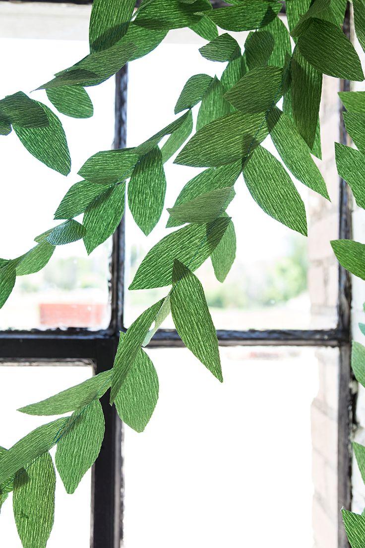 17 Best Ideas About Leaf Garland On Pinterest Botanical