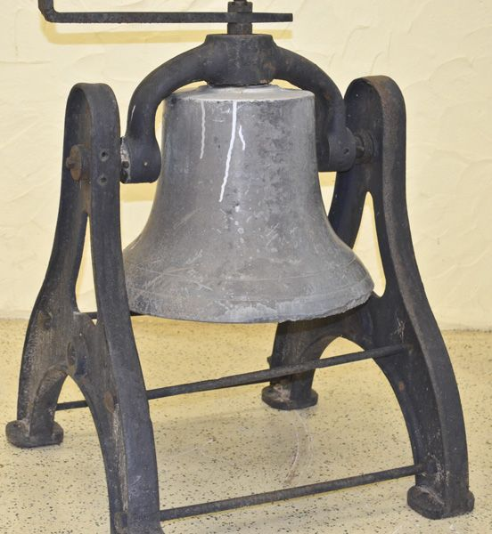 17inch Brass bell with complete hardware for swinging