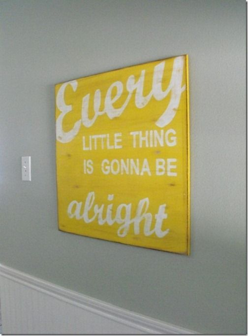 Love anything with words for the home, also the message doesn't hurt