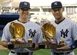 Golden glove: Golden Gloves, Derek Jeter, Gold Gloves, Yank Curr, Things Baseb, Mark Texeira Yank, Yankees Baby, Yank Baby, New York Yankees