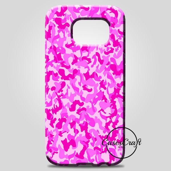 Pink Camouflage Pattern Samsung Galaxy Note 8 Case | casescraft