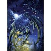 Blauwe draken - 1000