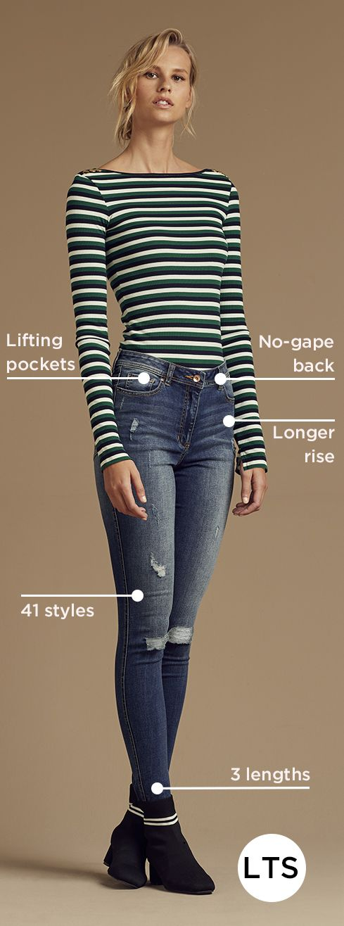 The original tall jeans since 1976. Jeans for tall women. It's our thing. With…