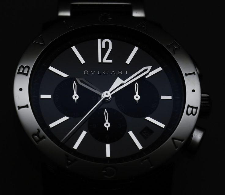 Bvlgari Bulgari Chronograph Watch for men review
