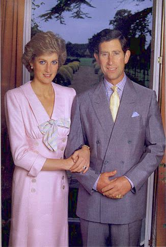 Diana & Charles,  no year was given. She looks pretty thin in this pic, so it must be early to mid 80's.  Only after she stepped outside that family for friendship and reality checks did she begin to come into her own.