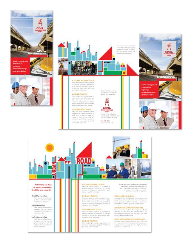 30 best Graphic design images on Pinterest Barber, Brochure - microsoft tri fold brochure template free