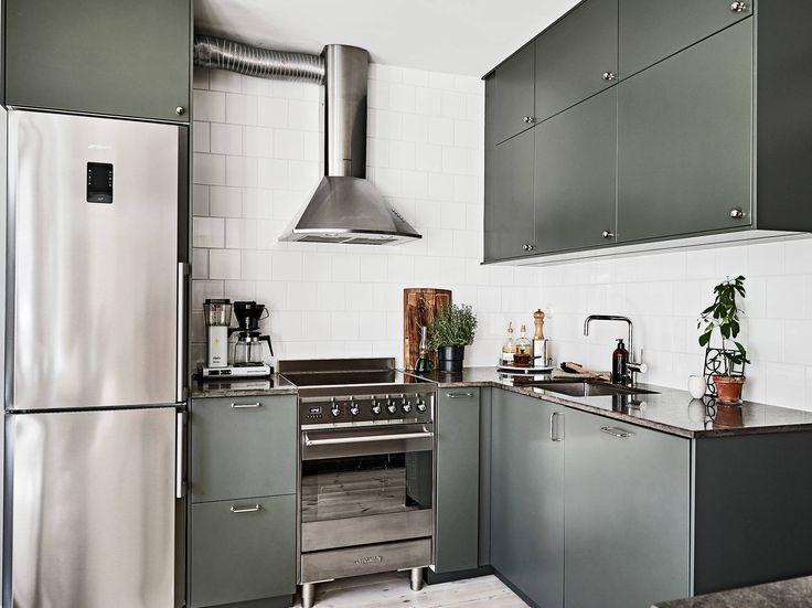 Scandinavian Kitchen with Smeg appliances