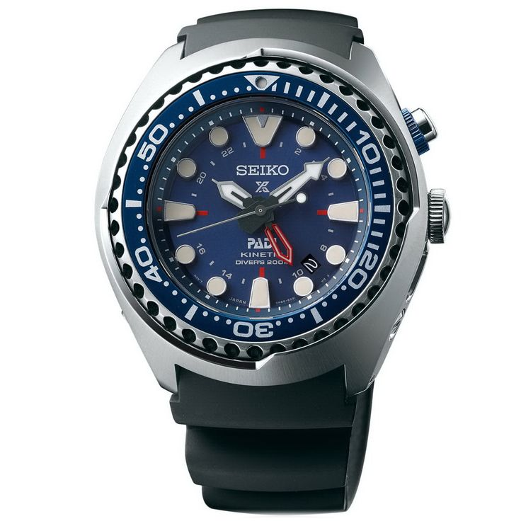 OceanicTime: SEIKO Kinetic GMT DIVER's PADI Ref. SUN065