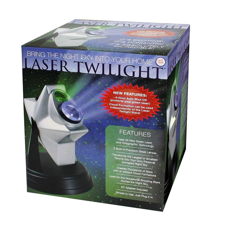 Toysmith Can You Imagine Laser Twilight Ceiling Projector, Multicolor