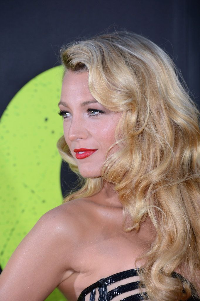 old hollywood hairstyles | Old Hollywood Waves + Classic Red Lips
