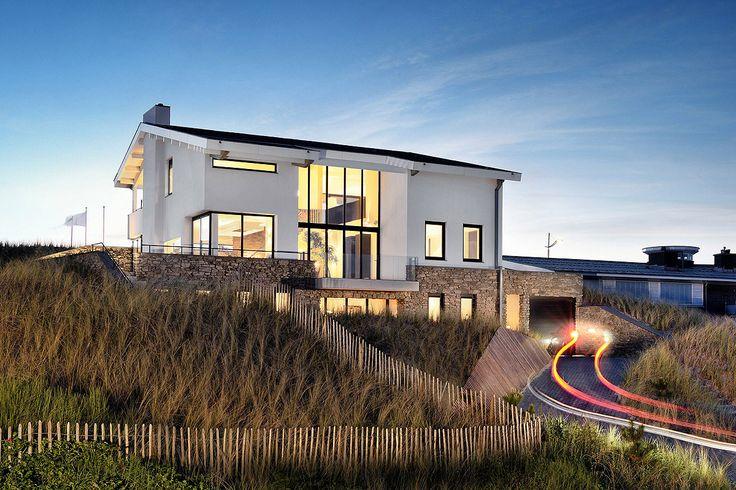 Architect villa, ontwerp villa Bergen door BNLA architecten, fotografie Studio de Nooyer.