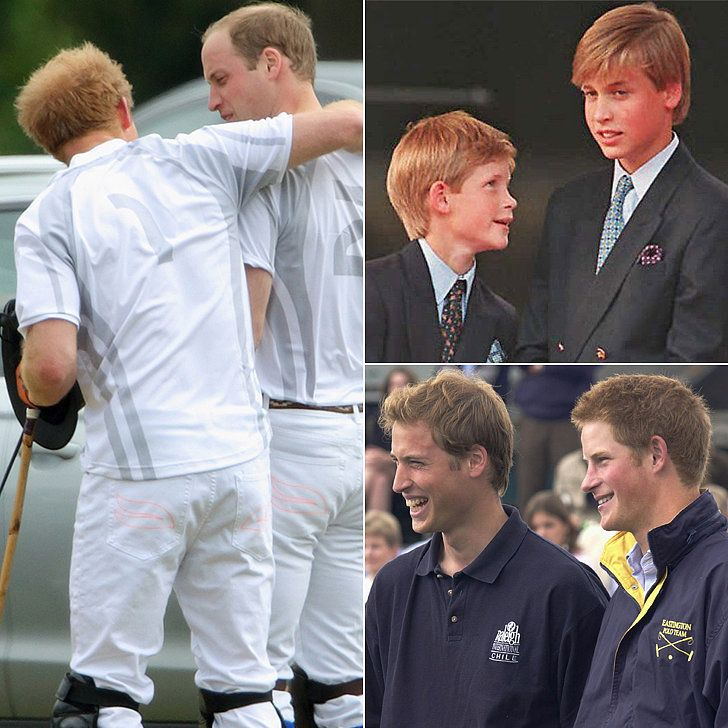Prince William and Prince Harry's Cutest Moments Together Through the Years